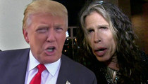 Donald Trump's Pal Steven Tyler Threatens Lawsuit Over 'Dream On'