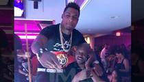Boxer Jermall Charlo -- Undisputed Champ Of Booty ... Drops $25K At Houston Strip Club