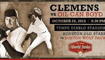Roger Clemens Pitching Against Oil Can Boyd ... In Baseball Game Time Forgot