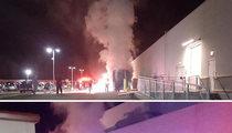 Whoopi Goldberg -- Tour Bus Bursts Into Flames ... Auditorium Evacuated