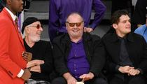 Jack Nicholson -- OK, I'll Give The Lakers Another Chance ...