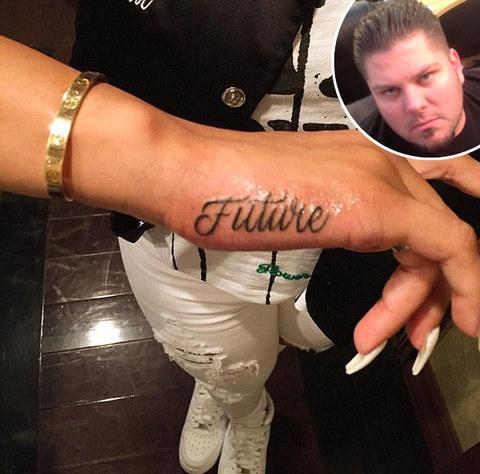 Mike: Blac Chyna's Future tattoo