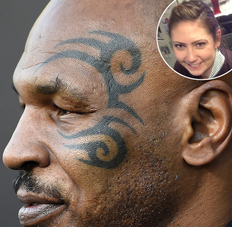 Shevonne: Mike Tyson's face tattoo