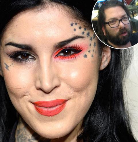 Dennis: Kat Von D's face tattoos
