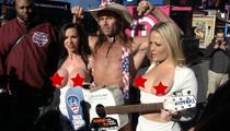 Porn Stars Nikki Benz & Alexis Texas Expose Big Apples ... for a Cause, Of Course! (VIDEO)