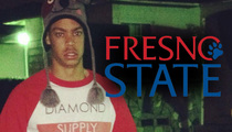 Fresno State Football Player -- Now Banned From Campus Too After Death Threat Arrest
