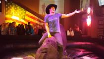 Scott Eastwood -- Slow Ridin' a Mechanical Bull (VIDEO)