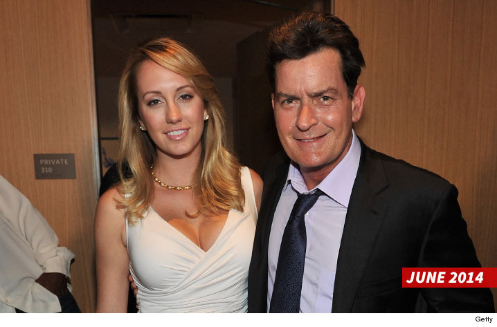 5ae6c4d3b11f Charlie Sheen -- Sued By Ex ... You Forced Me to Get an Abortion Because of  Your HIV