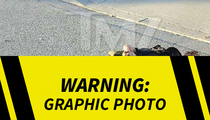 San Bernardino Shooter Syed Farook -- Moments After Final Gun Battle (PHOTO)