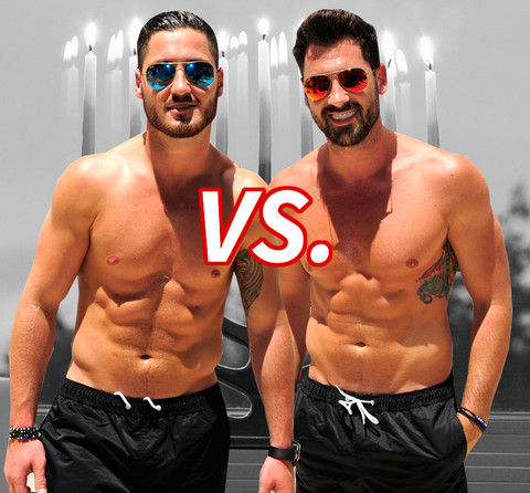 Battle of the He-bros! Val Chmerkovskiy (29) vs. Maksim Chmerkovskiy (35)