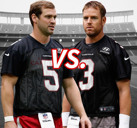 Battle of the Arizona Cardinals Quarterbacks!  Drew Stanton vs. Carson Palmer