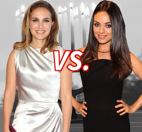 Biggest Hanukkah hottie? Natalie Portman (34) vs. Mila Kunis (32)
