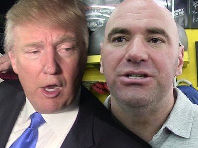 Donald Trump -- Thanks For The Endorsement Dana ... I'll Be Watching UFC Tonight