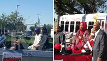 Kendrick Lamar & YG -- Cruisin' Through Compton ... For Xmas Parade