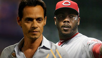 Marc Anthony -- I'm Standing By Aroldis Chapman ... For Now