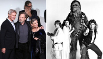'Star Wars' Cast -- The Force Can Only Do So Much (PHOTO)