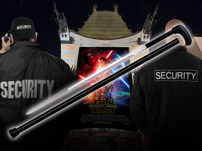 'Star Wars' Premiere -- Man Busted Bringing Knife to a Lightsaber Fight