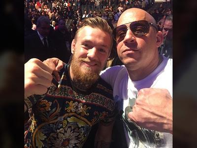 Conor McGregor -- Going 'XXX' ... Gets Role In Vin Diesel Movie