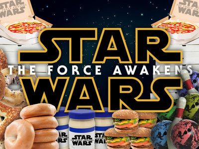 'Star Wars: The Force Awakens' -- They're Cornering the Mayo Market