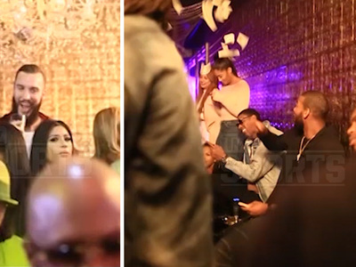 Milwaukee Bucks -- Partying at Strip Club ... Morning Of Lakers Loss
