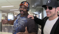 Ickey Woods -- Bro-ing Out with Nick Lachey (VIDEO)