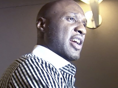 Lamar Odom -- Huge Step In Recovery