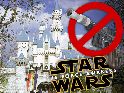 'Star Wars' -- Disneyland Outlaws Blasters