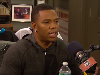 Ray Rice -- 'I'M NOT READY TO GIVE UP' ... I Wanna Play Again