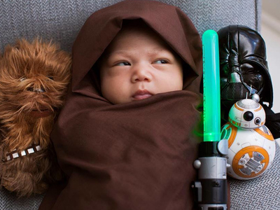Mark Zuckerberg -- I'm Raising a Little Jedi! (PHOTO)