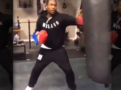 Meek Mill -- Boxing Training ... For Jail?