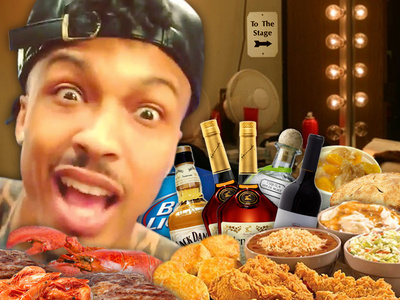 August Alsina -- I'm Not Going Onstage Without Popeyes
