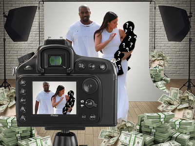 Kim Kardashian and Kanye West -- Offered Millions for Saint Pics