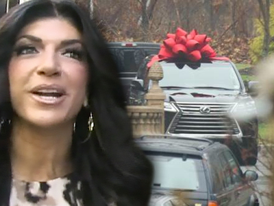 Teresa Giudice -- $90k Welcome Home Car ... Broke, Reallly?