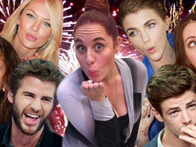 TMZ Staff Picks -- Which Celeb Do You Wanna Kiss On NYE?