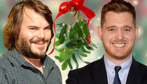 TMZ's Mistletoe Madness -- See Which Stars Stole a Kiss!