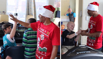 NBA's Muggsy Bogues -- The Littlest Santa ... Suprises Children's Hospital With Gifts!!!