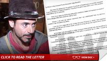 Robert Downey Jr. -- I'm No Role Model ... But I Deserve a Pardon