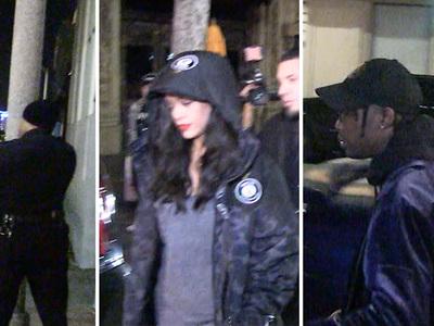 Rihanna -- Caught Up in Shooting at Hollywood Club