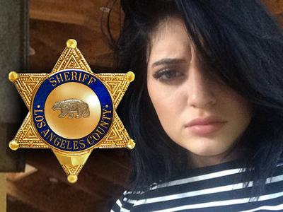 Kylie Jenner -- Sheriffs Urge ... Get a Restraining Order STAT!