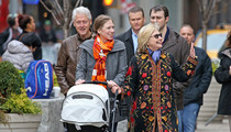 The Clintons -- Hot Coat-Ture in NYC (PHOTO)