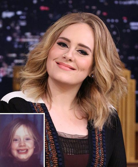 It's Adele!