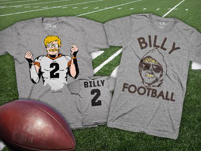 Johnny Manziel -- 'Billy Vegas' T-Shirts Flying Off Shelves