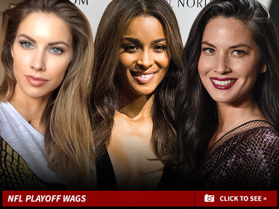 NFL Playoffs -- The Real Competition ... All About WAGs!!! (PHOTOS)