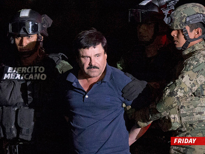 El Chapo -- Busted Trying To Make His Own 'Narcos' Remake