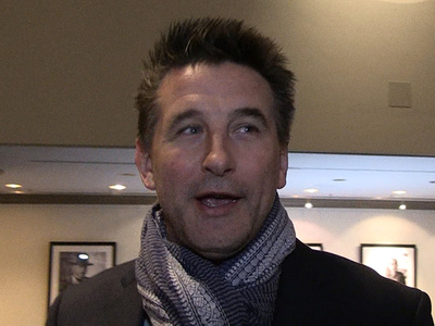 Billy Baldwin  -- Hailey's Uncle Gives Justin Bieber Thumbs Up!!!