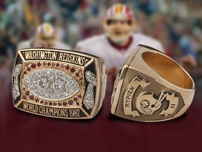 Mark Rypien -- Super Bowl Ring Hits Auction Block