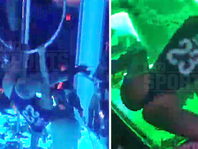 Anthony Davis -- Strip Club Using Booty Power ... To Woo NBA Star (VIDEO)