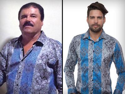 El Chapo -- Felony Fashions ... Capture Launches Craze (PHOTOS)