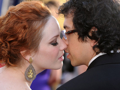 Celebs Pucker Up To Celebrate Kiss A Ginger Day