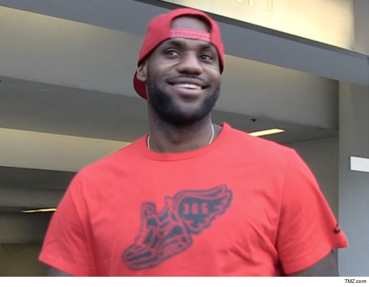 12f414b1c982 LeBron James -- I m A Reality Star Now! Inks TV Show Deal